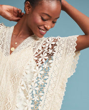 Kaftan Lace Dress Aires MOMONEWYORK