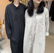 LONG DRESS SHIRT PANNA MOMO NEW YORK