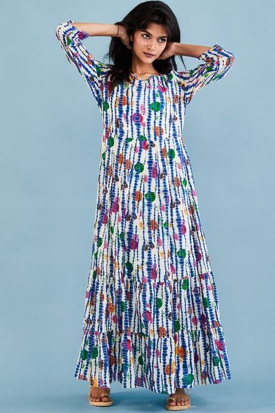 Maxi Dress Anne Laure MOMONEWYORK