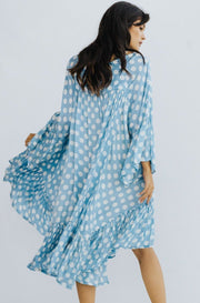 MODAL SILK KAFTAN DRESS SUNNI MOMONEWYORK