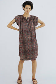 MODAL SILK SUMMER DRESS AMANDA MOMO NEW YORK