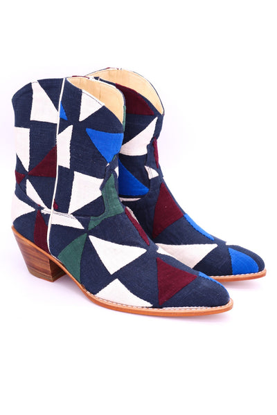 MOSAIC WESTERN BOOTS X FREE PEOPLE - MOMO NEW YORK