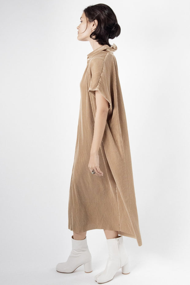 Pleated Dress Maike MOMONEWYORK