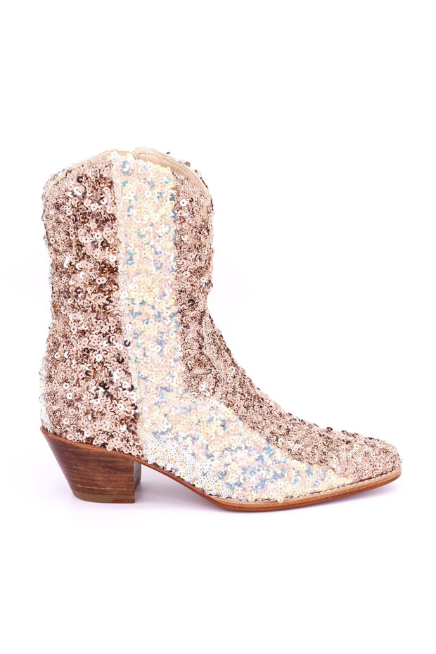SEQUIN BOOTS MALLORY - MOMO NEW YORK
