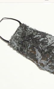 SEQUIN SHIMMER FACE MASK X FREE PEOPLE - MOMO NEW YORK