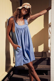 SHOULDER SUMMER DRESS ANNABELLE - MOMO NEW YORK