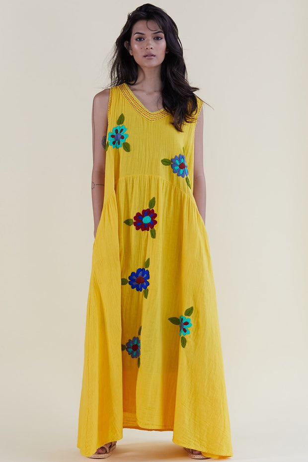 Siki Kaftan Dress MOMONEWYORK