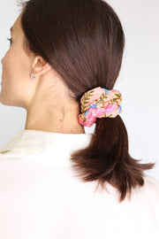 SILK COTTON SCRUNCHIE FATI - MOMO NEW YORK