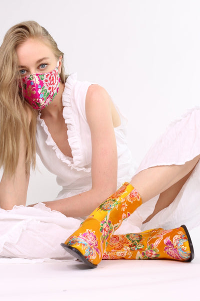 SILK FACE MASK TIJANA MOMO NEW YORK
