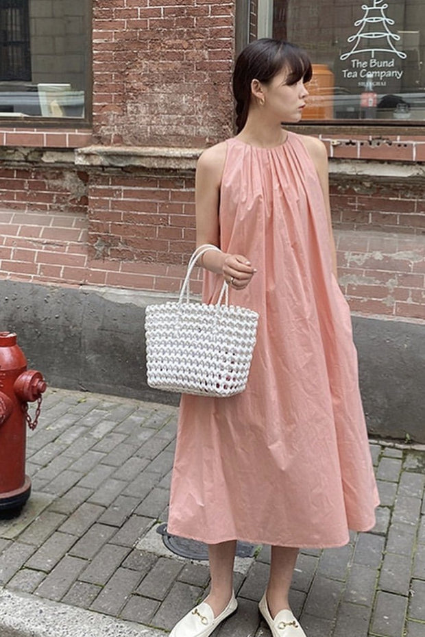 SLEEVELESS SUMMER DRESS GIMY MOMO NEW YORK