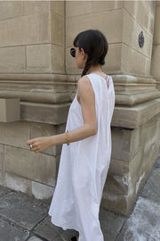 SLEEVELESS SUMMER DRESS LAURENCE - MOMO NEW YORK