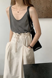 SLEEVELESS TOP FABY - MOMO NEW YORK