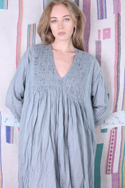 STAY COMFY AT HOME COTTON DRESS MARTY MOMO NEW YORK