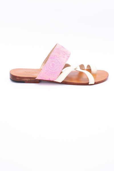 STRAP LEATHER SANDALS CLAUDIA - MOMO NEW YORK