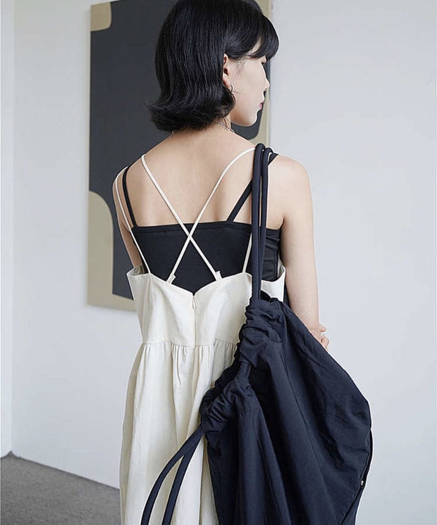 SUMMER SHOULDER STRAP DRESS SONJA - MOMO NEW YORK