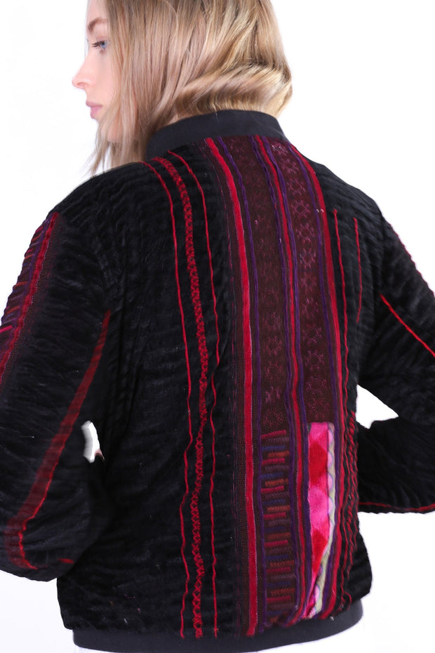 TRIBAL BOMBER JACKET AURORA - MOMO NEW YORK