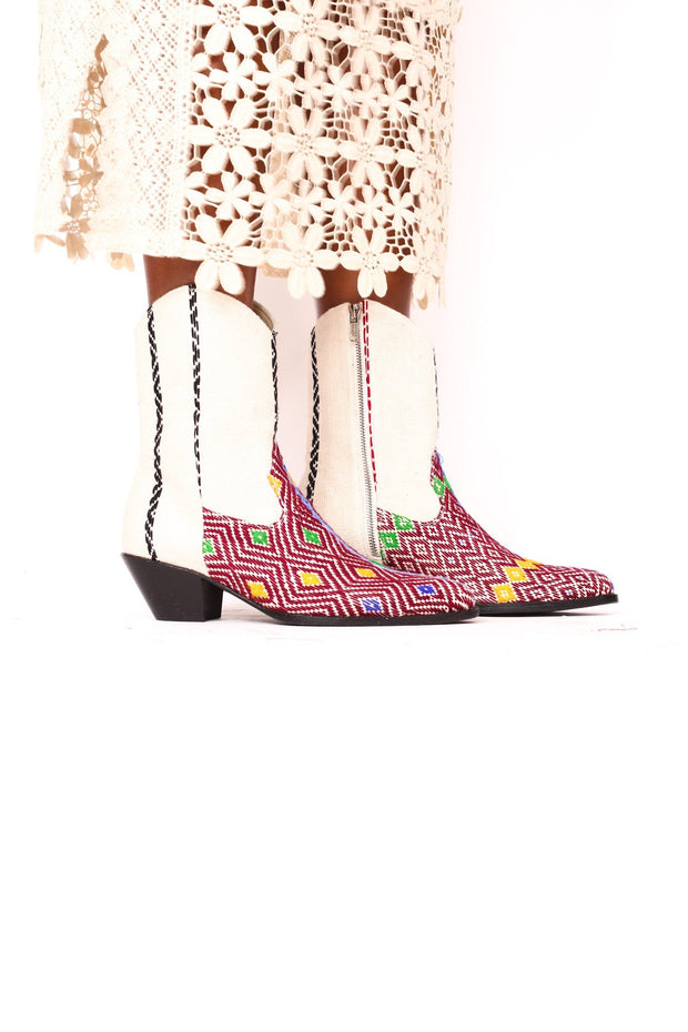 TRIBAL BOOTS BIANCA - MOMO NEW YORK