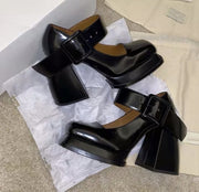 WEDGE PLATFORM PUMPS CARISSA - MOMO NEW YORK