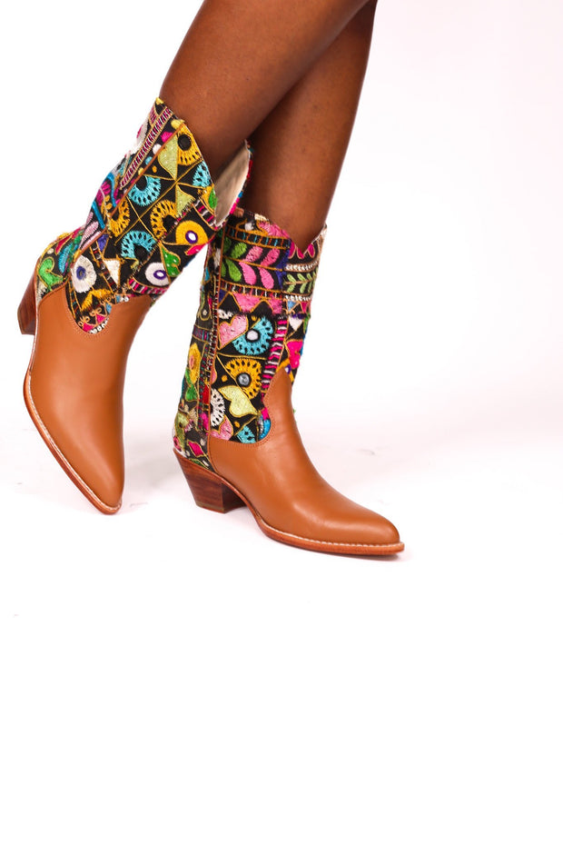 WESTERN STYLE BOOTS PINTA - MOMO NEW YORK