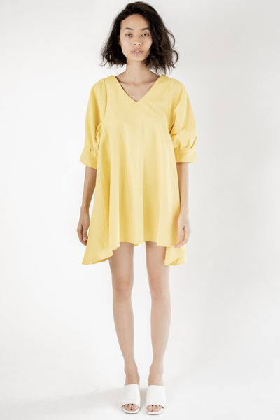 Yellow Mini My Favorite Dress Claes MOMONEWYORK