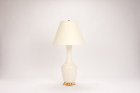 Single AP Alex Lamp in Blanc de Chine