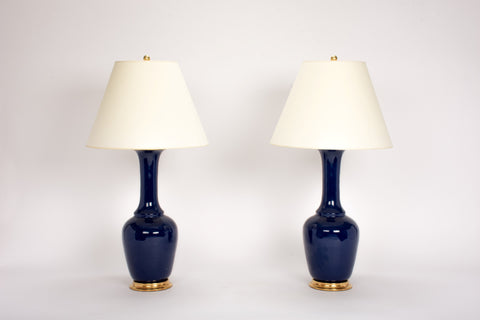 Pair of AP Alex Lamps in Indigo