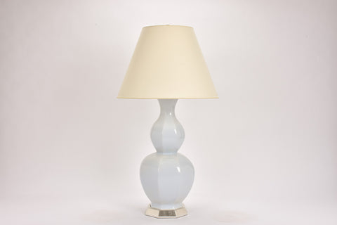 Single Alexander Lamp in Hope Blue