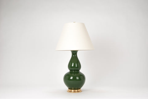 Single Aurora Lamp in Dark Green
