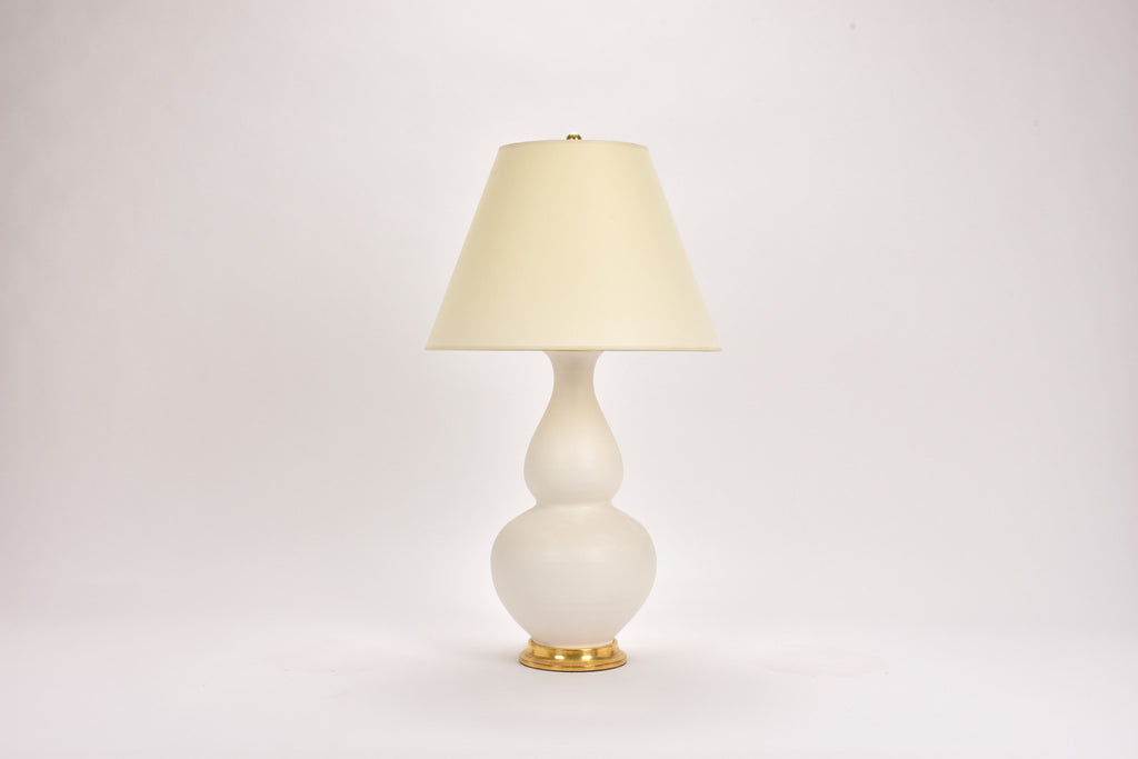 Single Aurora Lamp in Matte White