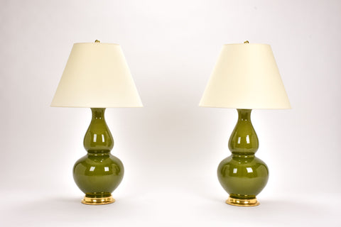 Pair of Aurora Lamps in Spruce
