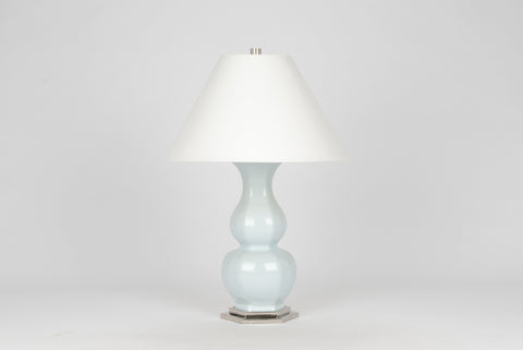 Carleton by Christopher Spitzmiller Sebastian Lamp in Powder Blue