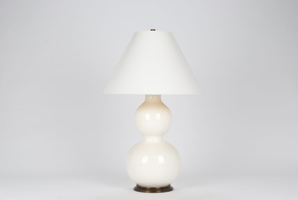 Carleton by Christopher Spitzmiller Natalie Lamp in White Lacquer