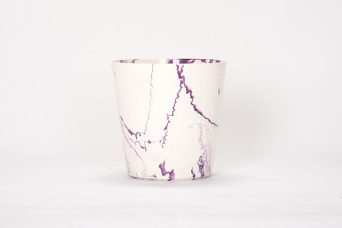 Ice Bucket in Lilac Marble