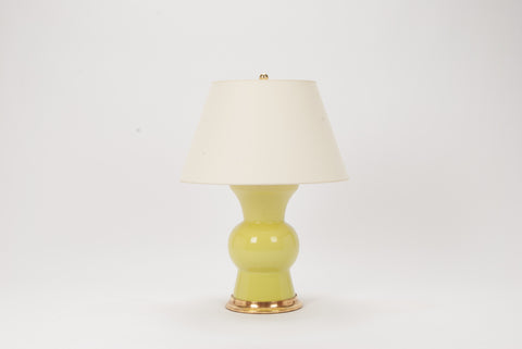 Single Gregory Lamp in Apple Green