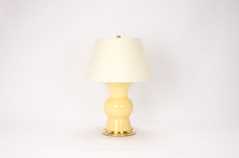 Single Gregory Lamp in Butter