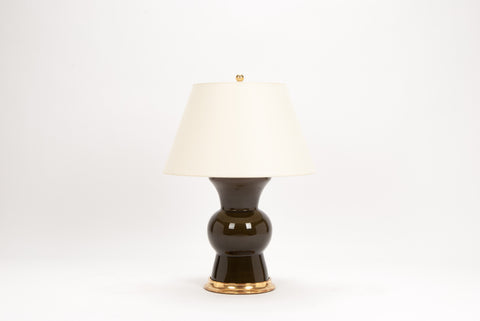 Single Gregory Lamp in Olive