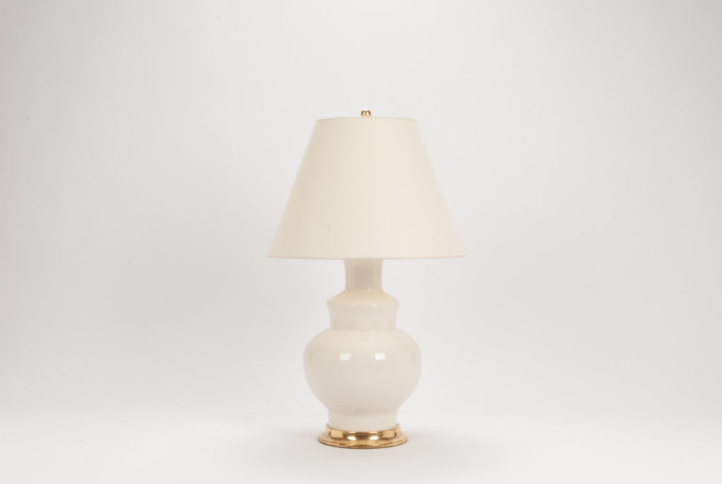 Single HB Kim Lamp in Blanc de Chine
