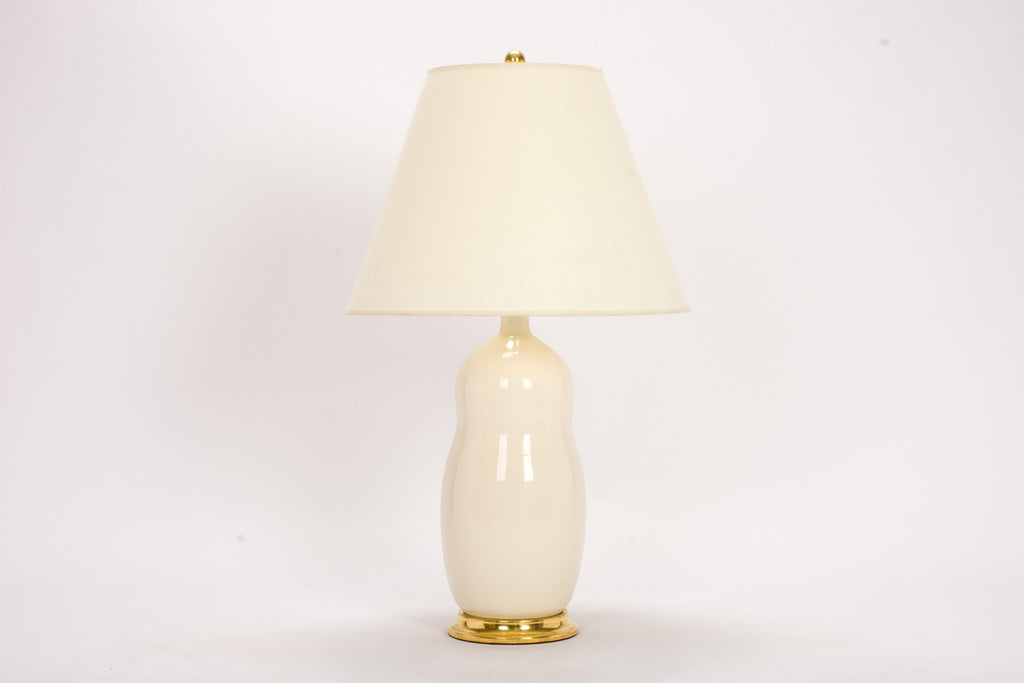Single HT Peanut Lamp in Clear