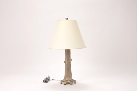 Single HT Tree Lamp in Platinum Luster
