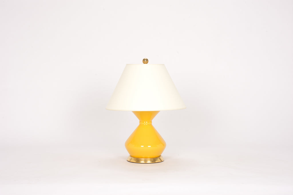 Single Hager Lamp in Marigold