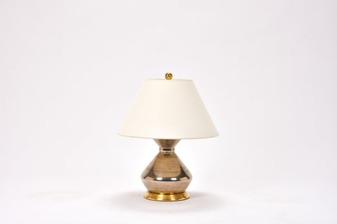 Single Hager Lamp in Platinum Luster