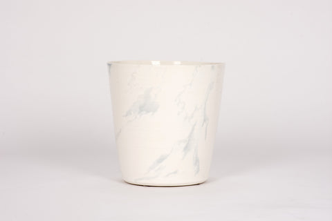 Ice Bucket in Heather Grey Marble
