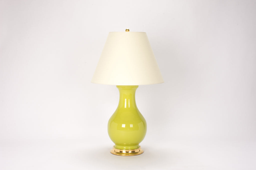 Single Large Hann Lamp in Apple Green