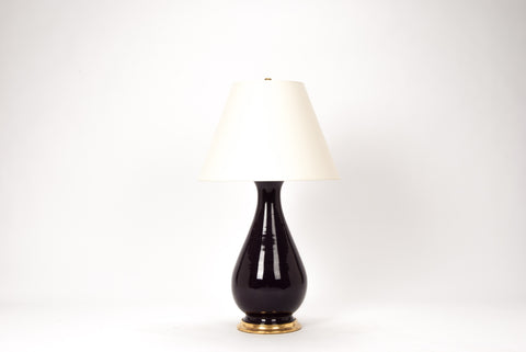 Single Large Louisa Lamp in Purple