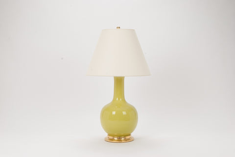 Single Large Single Gourd Lamp in Apple Green