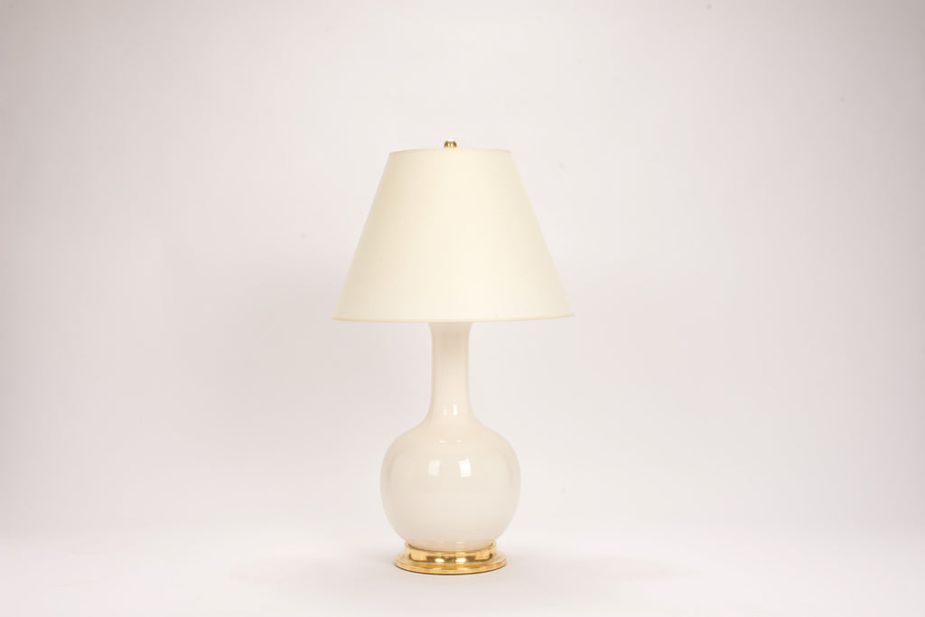Single Large Single Gourd Lamp In Clear