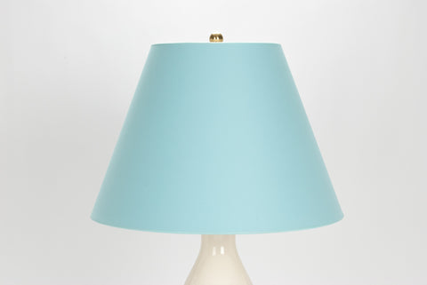 Lampshade in Soft Blue Paper Vellum 9/18/13