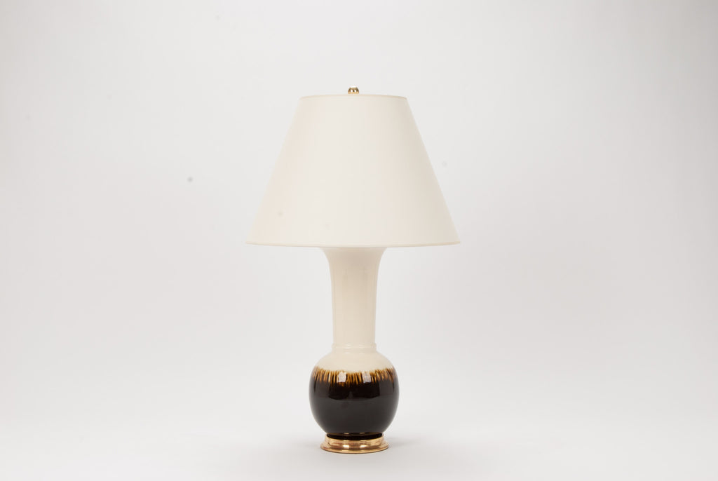 Single MR Alexandra Lamp in Amber Ombré