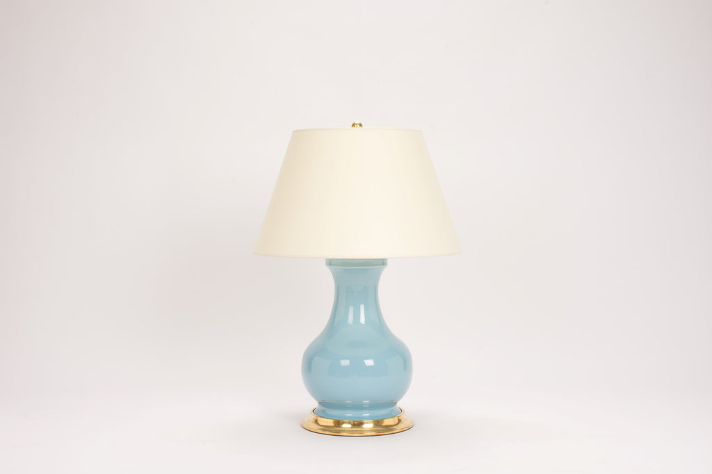 Single Medium Hann Lamp in Hydrangea