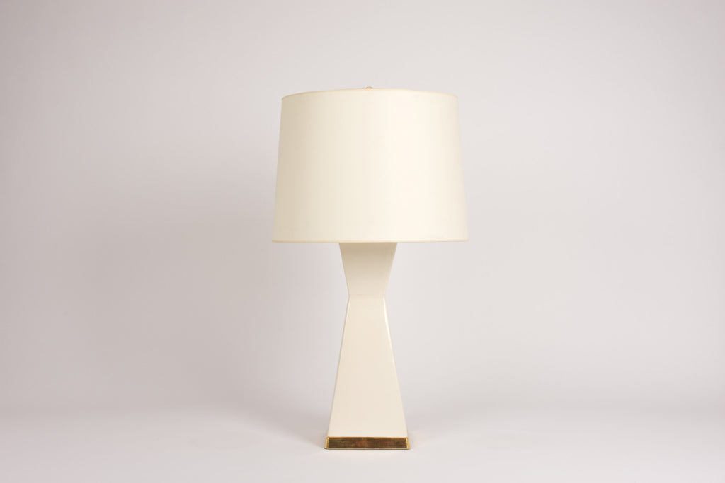 Single Melissa Lamp in Blanc de Chine